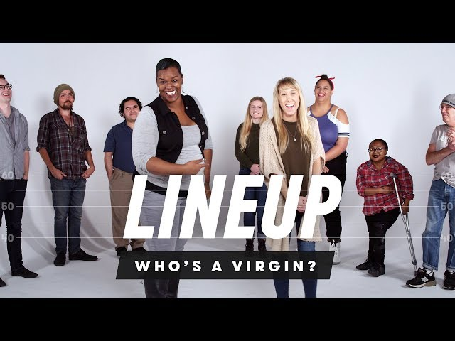 People Guess Who's a Virgin from a Group of Strangers   Lineup   Cut