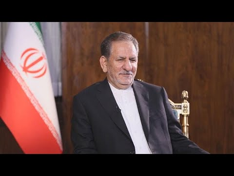 Ο αντιπρόεδρος του Ιράν, Εσάκ Τζαχανγκιρί στο Euronews