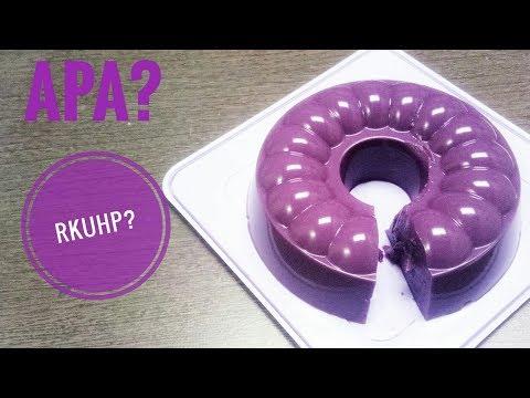 RKUHP || PUDING OLAHAN UBI UNGU || Resep Kreasi Ubiungu Homemade Pudding