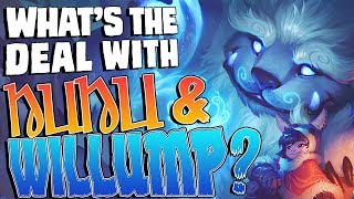 What's the deal with Nunu & Willump?    Character design & lore discussion
