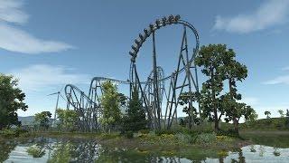 Kestrel POV - Vekoma Suspended Family Coaster - Nolimits Coaster 2