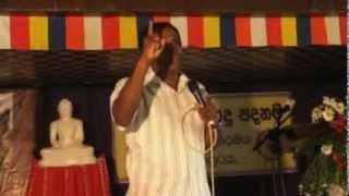 Ashoka Menikgoda Speech for Sinhala Buddhist Children (3 of 5)