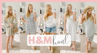 AFFORDABLE SUMMER OUTFITS 2019   H&M CLOTHING TRY ON HAUL   Amanda John