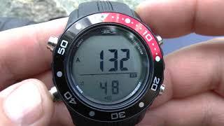 """Часы с глубиномером, компьютер подводный BS """"HUNTER"""". от компании МагазинCalipso dive shop - видео"""