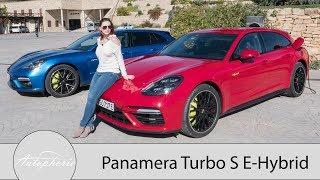 Porsche Panamera Turbo S E-Hybrid Sport Turismo Fahrbericht / Le Mans erleben für 4+1 - Autophorie | Kholo.pk