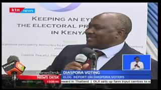 NewsDesk: ELOG asks IEBC to fastrack the registration of Kenyans living in the diaspora