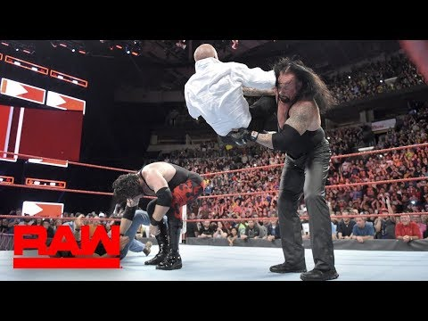 The Brothers of Destruction DESTROY HHH & Shawn Micheals ! WWE Raw Oct.1,2018