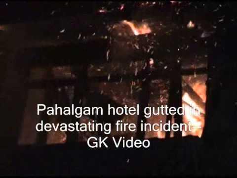 Pahalgam hotel gutted in devastating fire incident