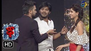 Sudheer   Varshni Funny Task   Dhee 10   15th November 2017   ETV Telugu