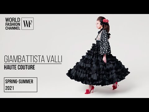 Giambattista Valli Haute Couture   spring-summer 2021