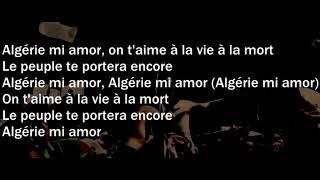 L Algerino   Algerie Mi Amor Paroles Lyrics
