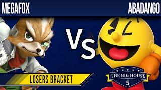 TBH5 Smash 4 - Megafox (Fox) vs Abadango (Pacman) - Losers Bracket