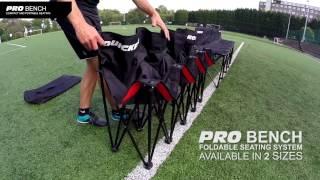 Quickplay Sport Faltbare Pro Bench Ersatzbank