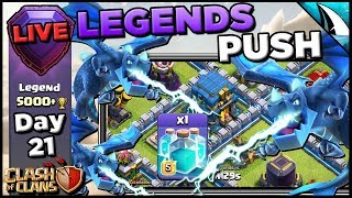 *3 EDrags In Legends Push* THIS IS SO STRONG! | Clash of Clans