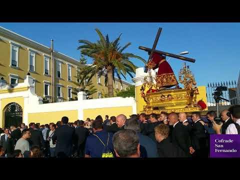 El Nazareno llega a la Casería tras bellas estampas en San Carlos