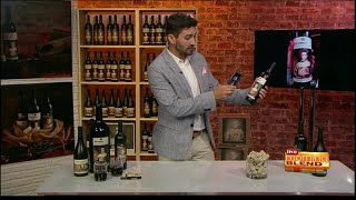 Talking bottles of 19 Crimes wine with augmented reality