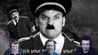ERB - Darth Vader vs. Hitler (1-3) | DarkStar Reacts