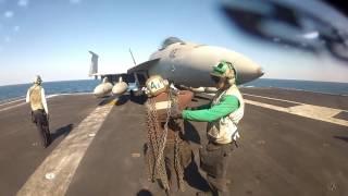VFA-105, Perkins PC, Flight ops