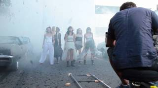 "Behind the Scenes of Christina Perri's ""Jar of Hearts"" Video Shoot"