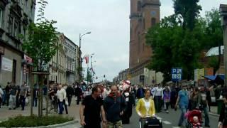 preview picture of video 'Piekary Śląskie - Pielgrzymka mężczyzn + Kopiec Powstańców Śląskich'