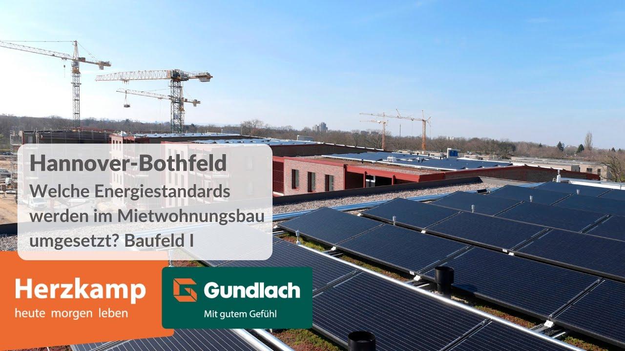 Umgesetzte Energiestandards im Herzkamp - Baufeld I