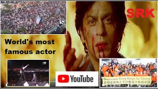 The crazy MEGASTARDOM of SRK - Most famous actor in the world