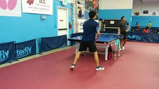 David Mu from France (1850) vs Chetas (1829) at ICC League on 2018-8-4