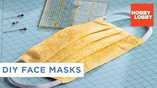 DIY Fabric Face Mask | Hobby Lobby®