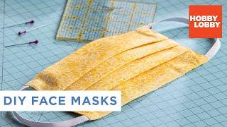 DIY Fabric Face Mask | Hobby Lobby®