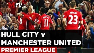 Hull City V Manchester United  Premier League  27 August 2016