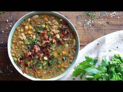Crockpot Lentil Soup   Comfort Food For The Soul