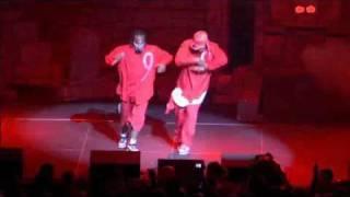 Tech N9ne & Kutt Calhoun Performing Blood Walk