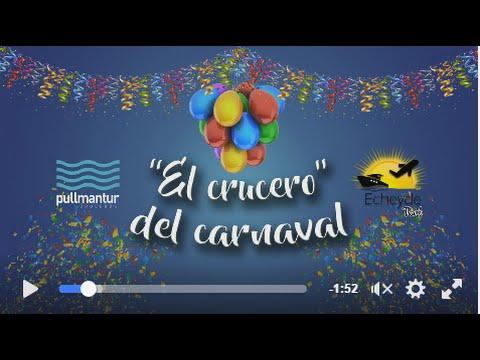 ► Crucero carnaval, no te lo queremos contar, ¡lo tienes que vivir!