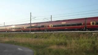 preview picture of video 'TRANSITI IN AV:  NTV ITALO 9921'
