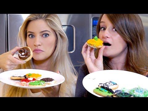 Halloween Cookie Decorating Challenge! | iJustine