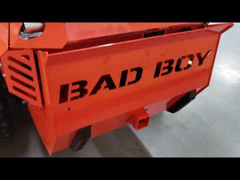 "2019 Bad Boy Mowers Renegade 61"" with 37hp Vanguard EFI in Saucier, Mississippi - Video 1"
