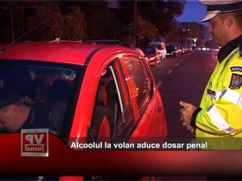 Alcoolul la volan aduce dosar penal