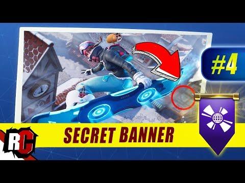 Fortnite Week 4 Secret Banner Location Season 7 Week 4 Loading