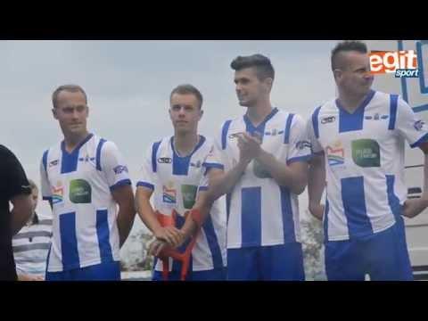 Prezentacja piłkarzy Stomilu Olsztyn na nowy sezon