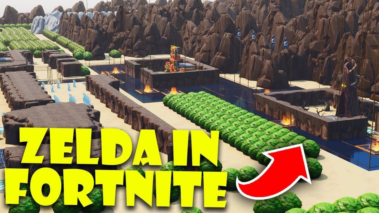 Zelda Skin Fortnite Fortnite The Legend Of Zelda Llega Al Battle Royale Gracias A Los Fans Video Depor Play Depor