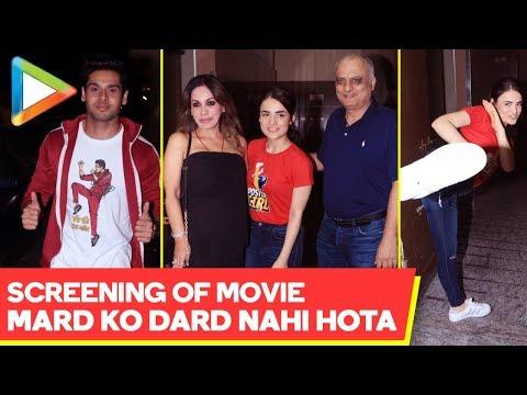 Screening Of Movie 'Mard Ko Dard Nahi Hota' @Juhu PVR