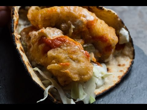 Easy Homemade Fish Tacos | SAM THE COOKING GUY