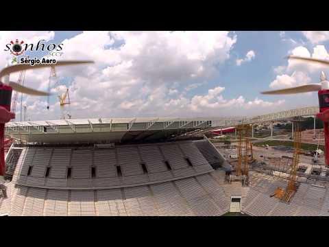 Vôo sobre a Arena do Corinthians - Bem-vindo a nossa casa