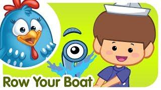 Row Row Row Your Boat(ボートをこごう)
