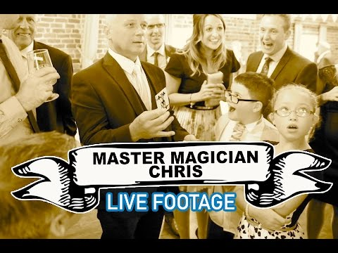 Master Magician Chris Video