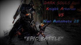 EPIC BATTLE 2B vs Knight Artorias
