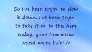 Don't Blink - Kenny Chesney (w  lyrics).flv