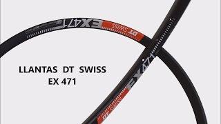 Características llantas DT Swiss ex 471 para tus ruedas a la carta