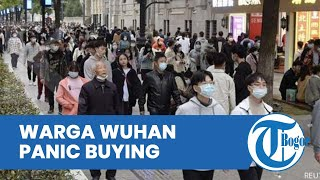 Gara-gara Covid-19 Varian Delta Mewabah di Wuhan Cina, Warganya Jadi Panic Buying hingga Lockdown