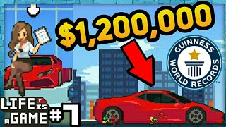 BUYING THE MOST EXPENSIVE CAR | Life Is A Game #7